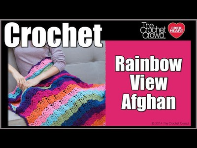 How to Crochet Rainbow View Afghan