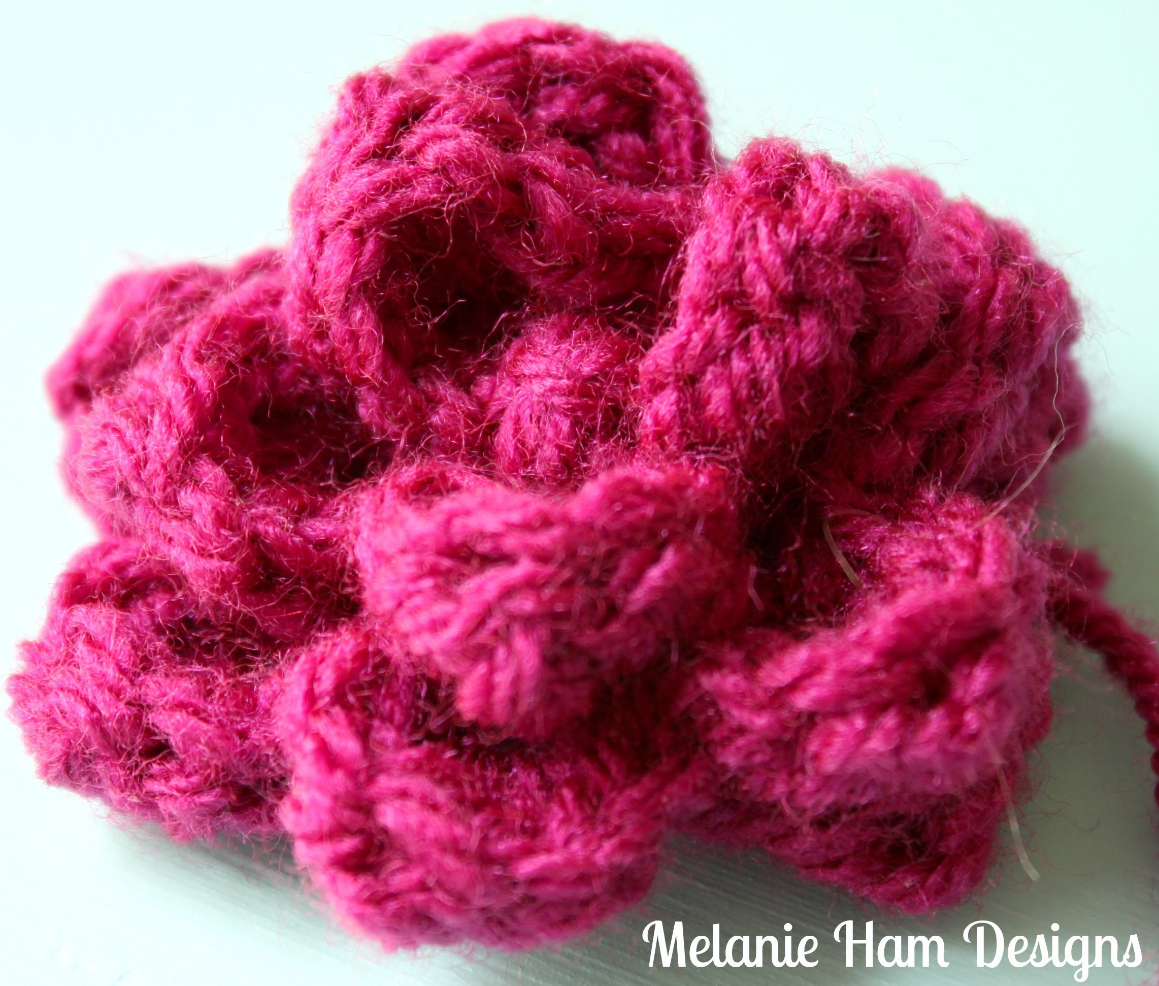 How to Crochet Roses: Advanced Beginner