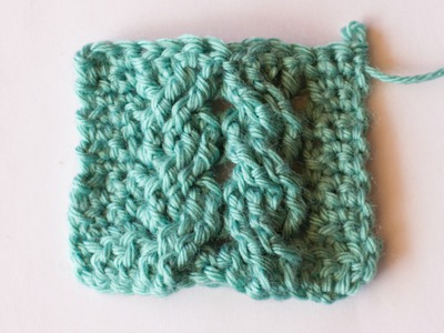 How To: Crochet The Cable Braid Stitch