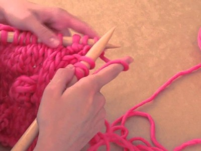 How to knit bobbles | We Are Knitters