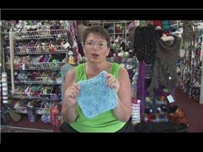 How to Knit : How to Knit a Washcloth for a Baby