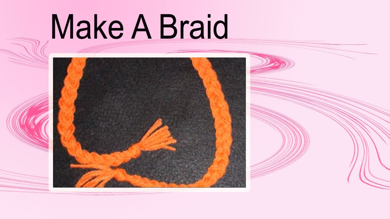 How to make a Braid and attach to Crochet Hat or Cap Crochet Geek