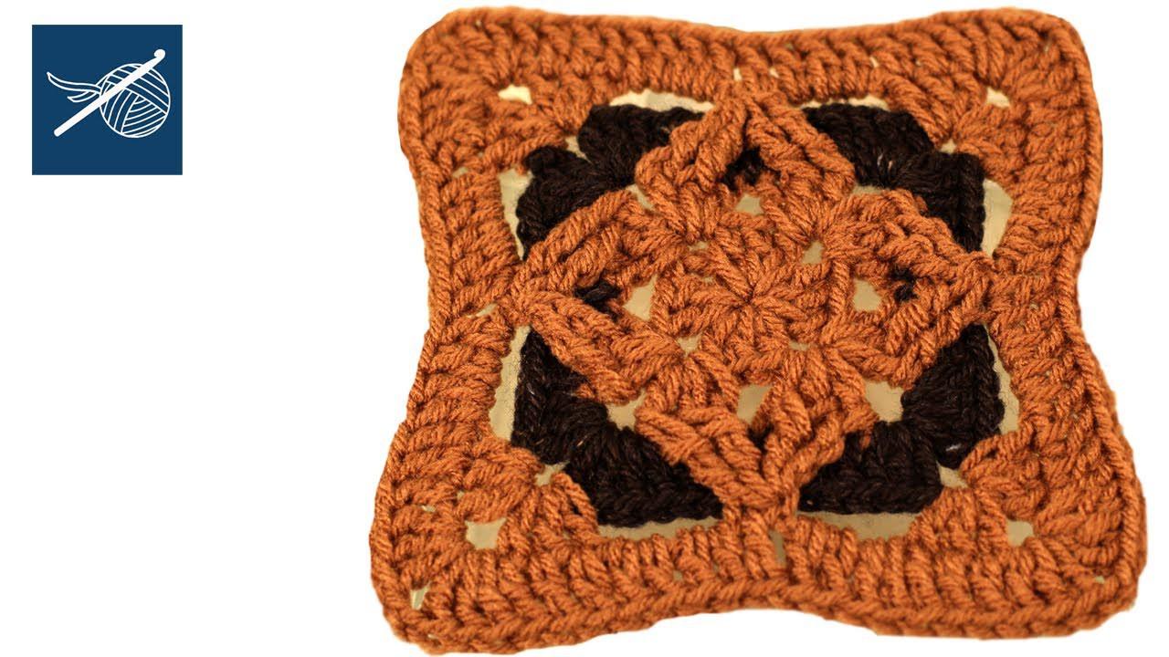 How to make a Crochet Diamond Granny Square Crochet Geek