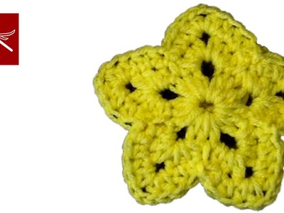 How to make a Crochet Star Yellow