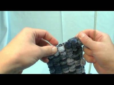 Howto Knit with Pom Pom Yarn