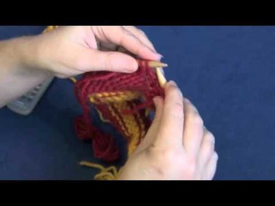Intarsia Knitting in the Round