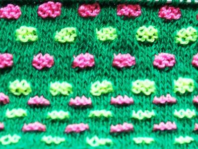 Жаккард спицами (jacquard knitting needles)