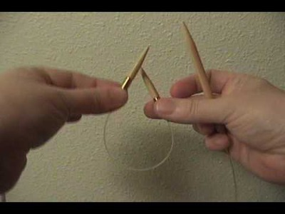 KA Bamboo Circular Knitting Needles Demonstration for Pinkfeather Knitting on Ebay