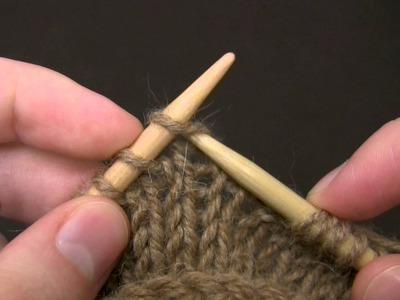 Knit Stitch - English Style