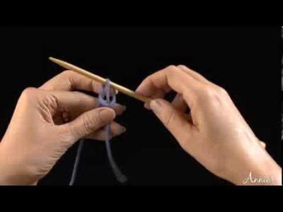 Knitted Cast On -- Free Beginner Knitting Tutorial