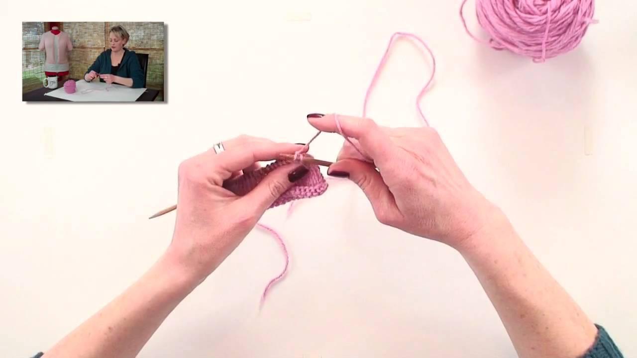 Knitting Help - Yarn Over Bind-Off
