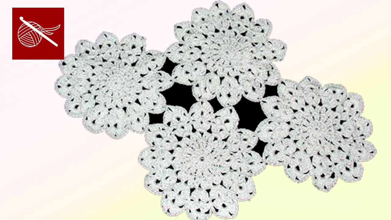 Lace Motif - Joining Together Crochet Geek January 23 Video