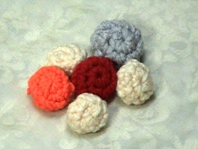 Learn How to Crochet little ball, Tutorial