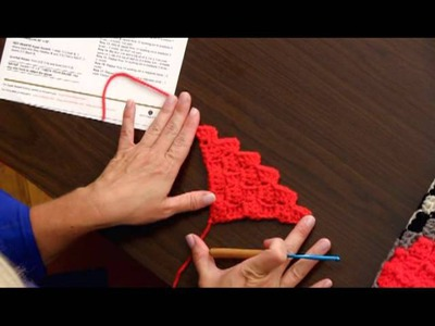 Learn How to Crochet the Race Car Throw by Red Heart