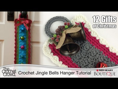 Learn to Crochet a Jingle Bells Door Hanger Tutorial