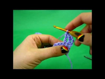 Learn to Crochet - Lesson 3 - hdc, dc and tr