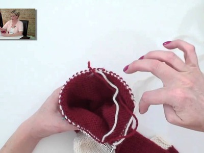 Learn to Knit a Christmas Stocking - Part 5