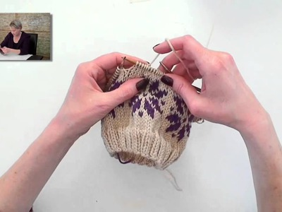Learn to Knit Fair Isle - Part 3