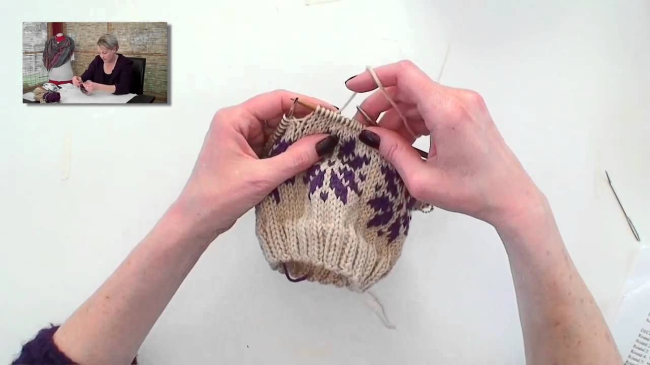Learn to Knit Fair Isle - Part 3