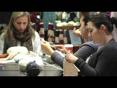 Learn to Knit in a Day at the Lion Brand Yarn Studio