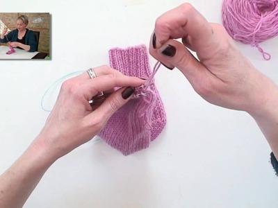 Learn to Knit Magic Loop Socks - Part 6