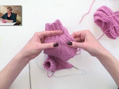 Learn to Knit Magic Loop Socks - Part 4