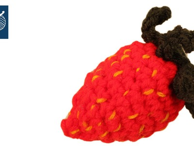 Make a Festival of Crochet Strawberries - Left Hand Version  Crochet Geek
