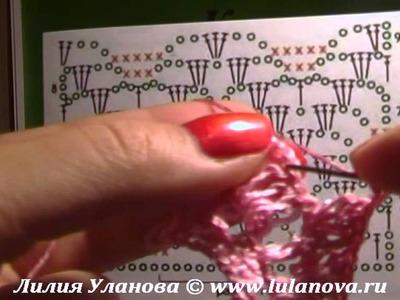 Научиться вязать по схемам - практический курс - 2 Learn to knit schemes