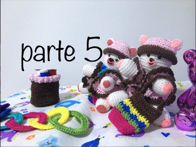 Oso tejido parte 5  #Amigurumis #Ganchillo #Crochet Teddy Bear DIY