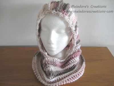 Riptide Hooded Cowl - Crochet Tutorial