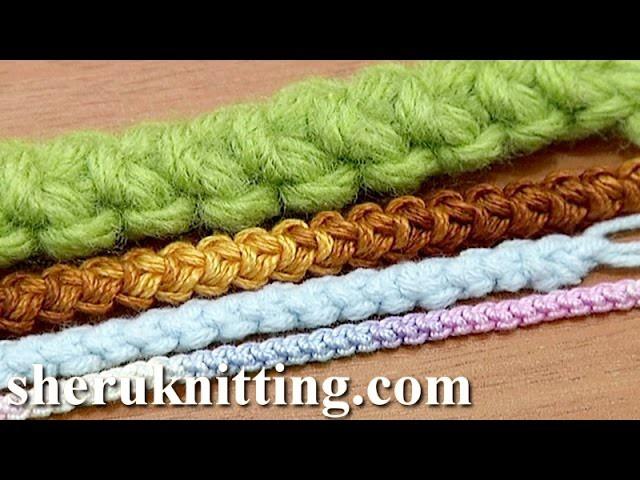 Romanian Point Lace Basic Cord Crochet Tutorial 47 Romanian Macrame Cord