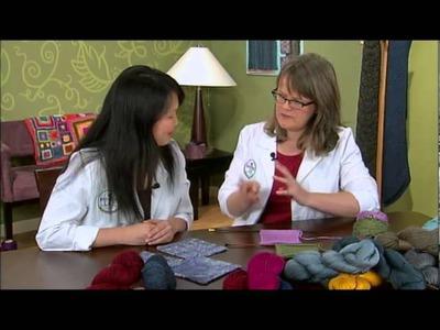Silk Blend Yarns, from Knitting Daily TV Episode 912, Yarn Spotlight