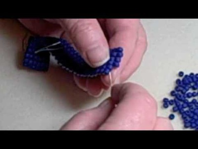Square Stitch Beading Demonstration