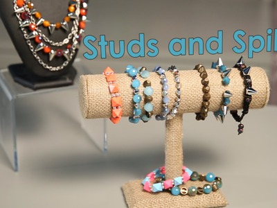 Studs and Spikes: DIY Fashion Beads for Jewelry & Clothing