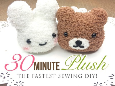 The Fastest Plushie DIY Ever - Make an adorable toy in just 30 minutes!