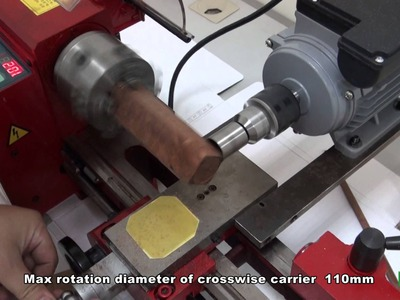 The mini woodworking lathe DIY wooden beads