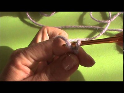 Tutorial Cadena en crochet