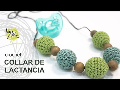 Tutorial Collar Lactancia Crochet o Ganchillo