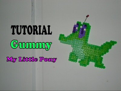 TUTORIAL: Gummy from My Little Pony FiM - Perler Beads DIY