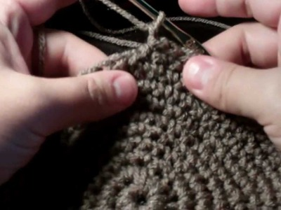 Tutorial How to Crochet a Cupcake Handbag part 1