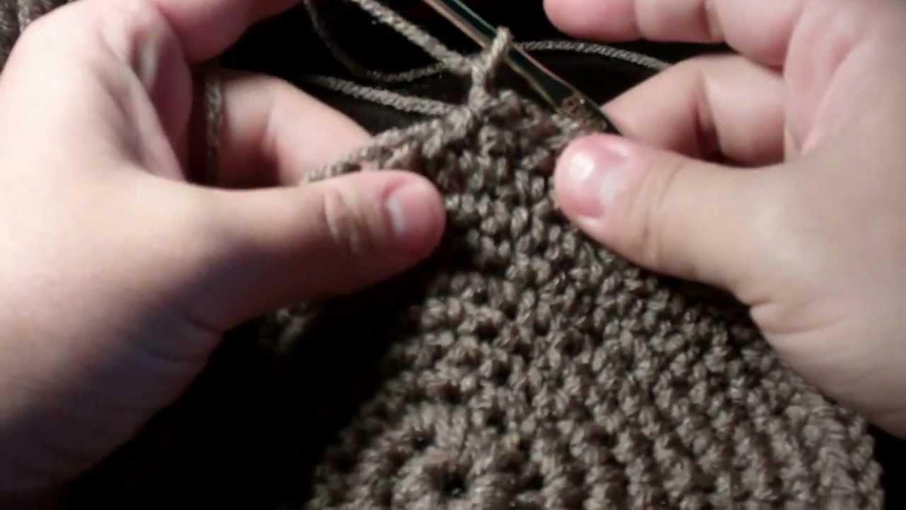 Tutorial How to Crochet a Cupcake Handbag part 1
