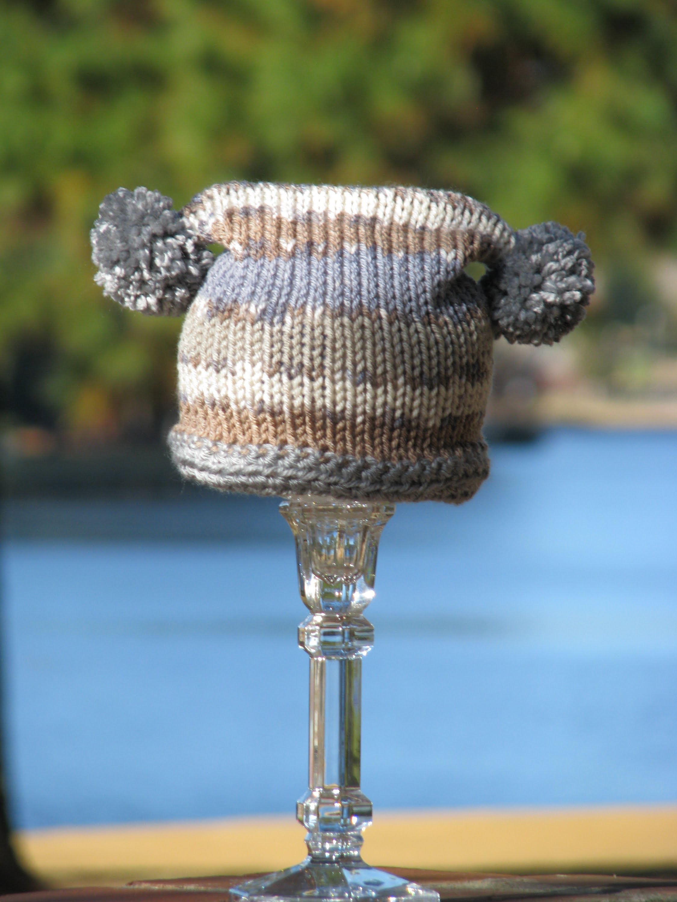 Tutorial: Square Baby Hat for Addi Express, Crochet, Knit or Loom Knit