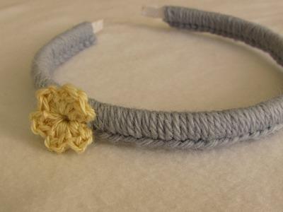 VERY EASY crochet headband. hairband tutorial - crochet for beginners