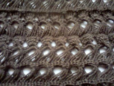Вязание крючком. (Вязание на линейке).  Crochet. (Knitting on the line)