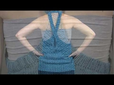 #20 Halter Tank, Vogue Knitting Spring.Summer 2009