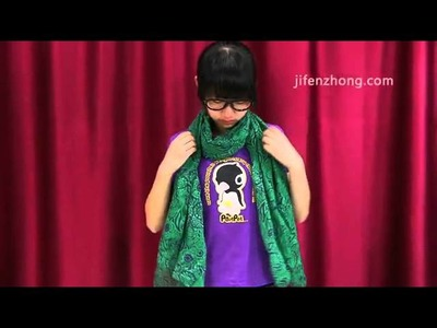 3103 How To Wear Korean Type Scarf