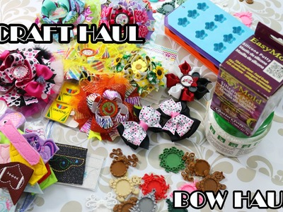 Craft HAUL.Bow Haul (recently purchased supplies and bows)