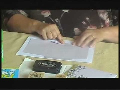 Crafting Time 2009  Episode 1.   Using a C6 Envelope Template