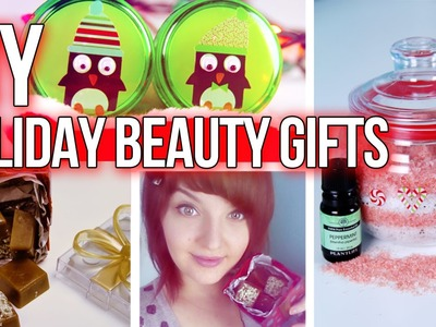DIY CHRISTMAS GIFT IDEAS: Affordable Last Minute Holiday Beauty Presents! | DecorateYou