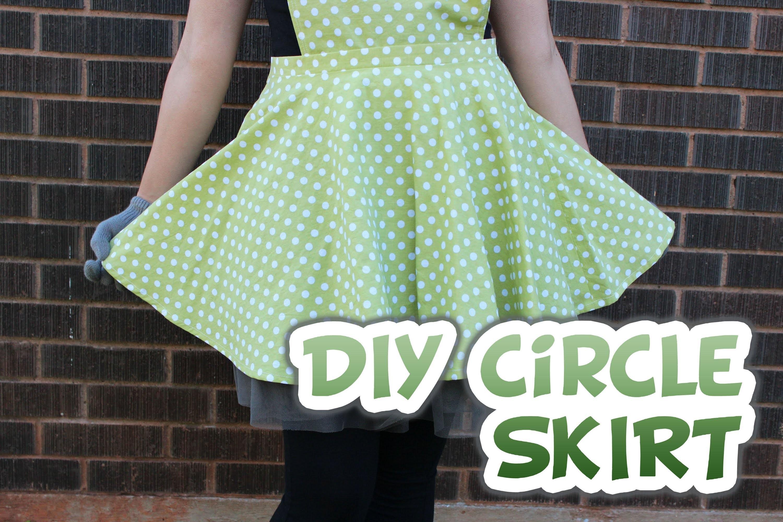 DIY Circle Skirt (With Zipper) - Whitney Sews